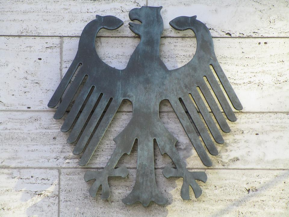 Federal Eagle, Adler, Heraldic Animal, Bundestag