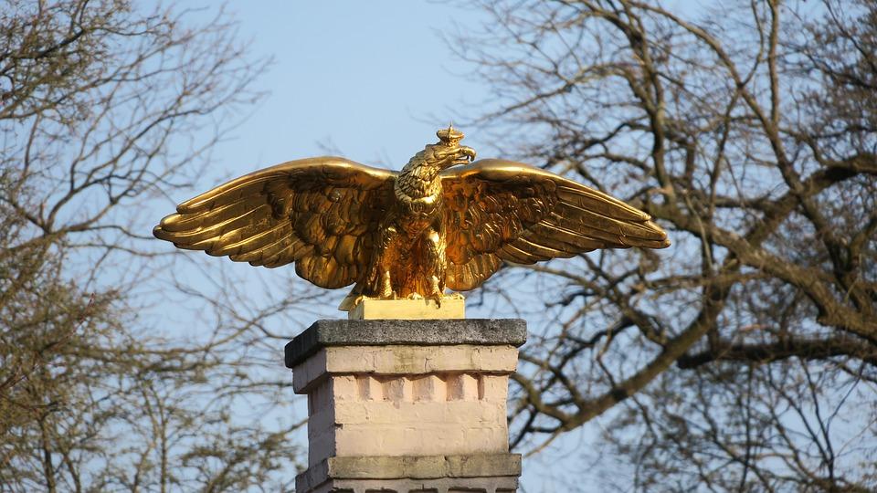 Adler, Statue, Monument, Sculpture, Bird, Bronze, Metal