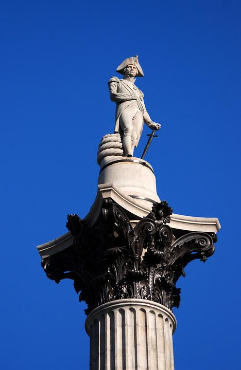 Lord Nelson, Naval, Victory, Admiral, Monument