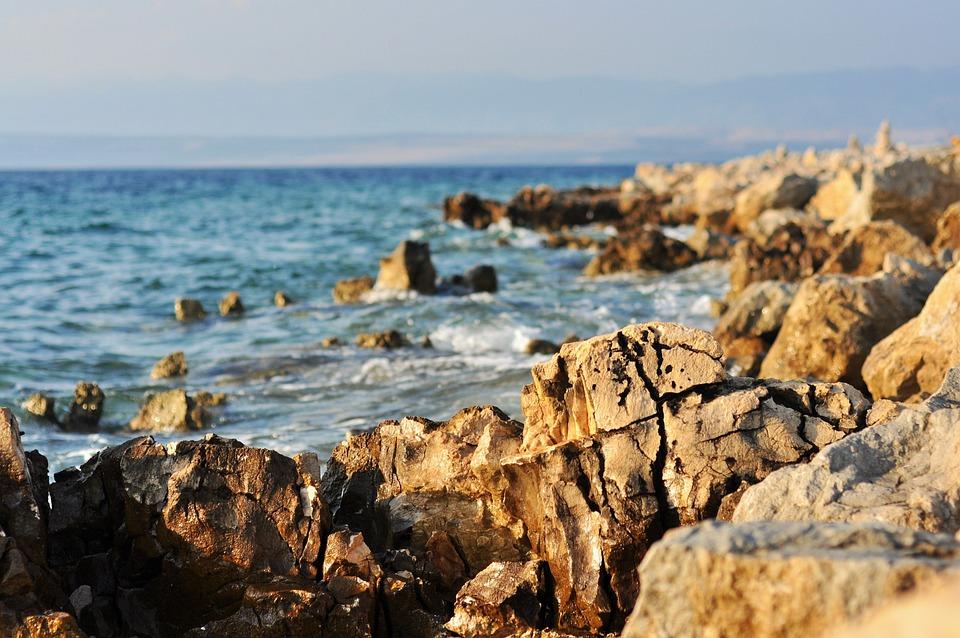 Beach, Adria, Light, Sea, Colors, Color, Waterfront