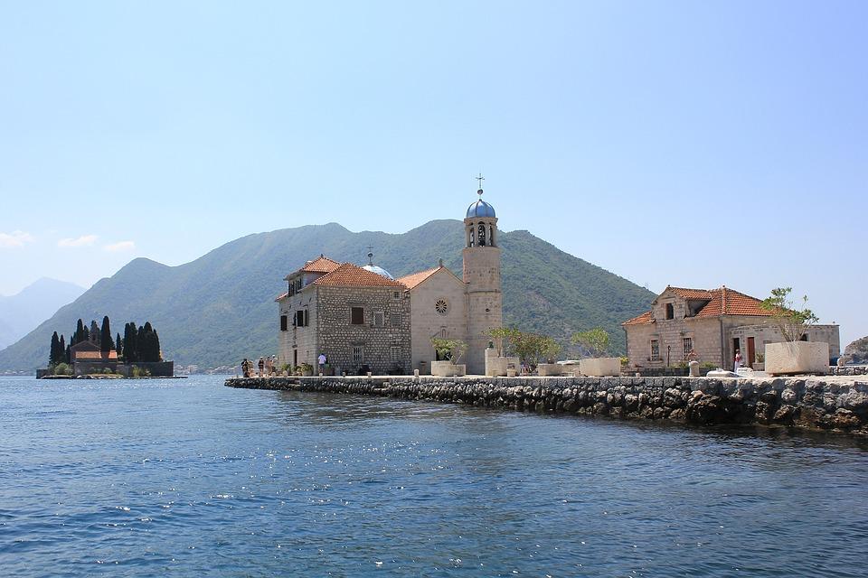 Montenegro, Boka Bay, Bay, Adriatic, Landscape, Travel