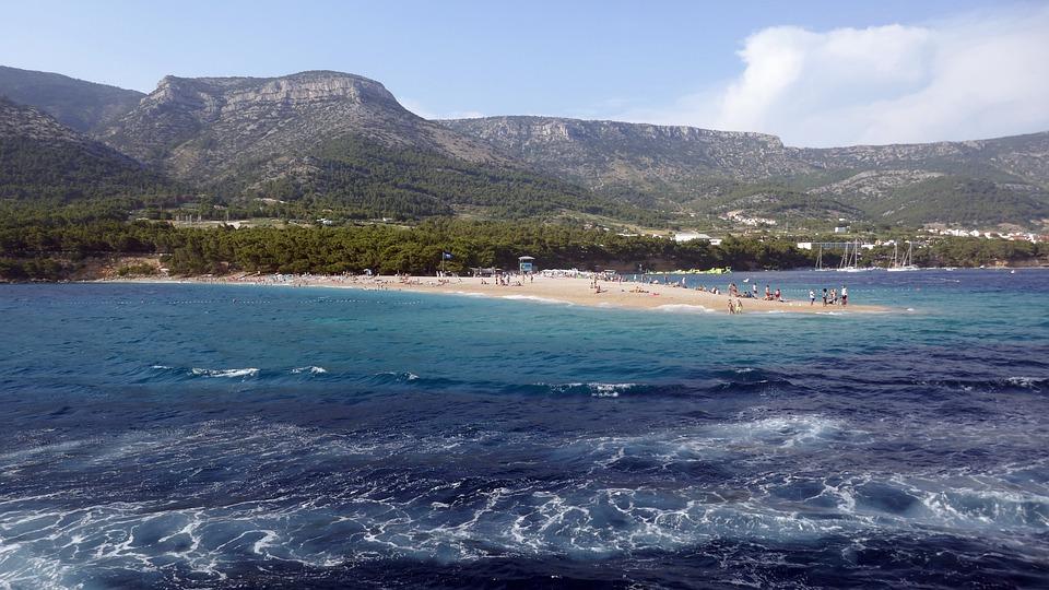Croatia, Island, Brac, Sea, Landscape, Adriatic Sea