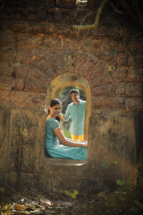 Kerala, Adult, People, Woman, Hand, Portrait, Nature
