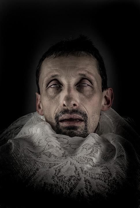 Men's, People, Portrait, A, Adult, Morbid, Old, Skin