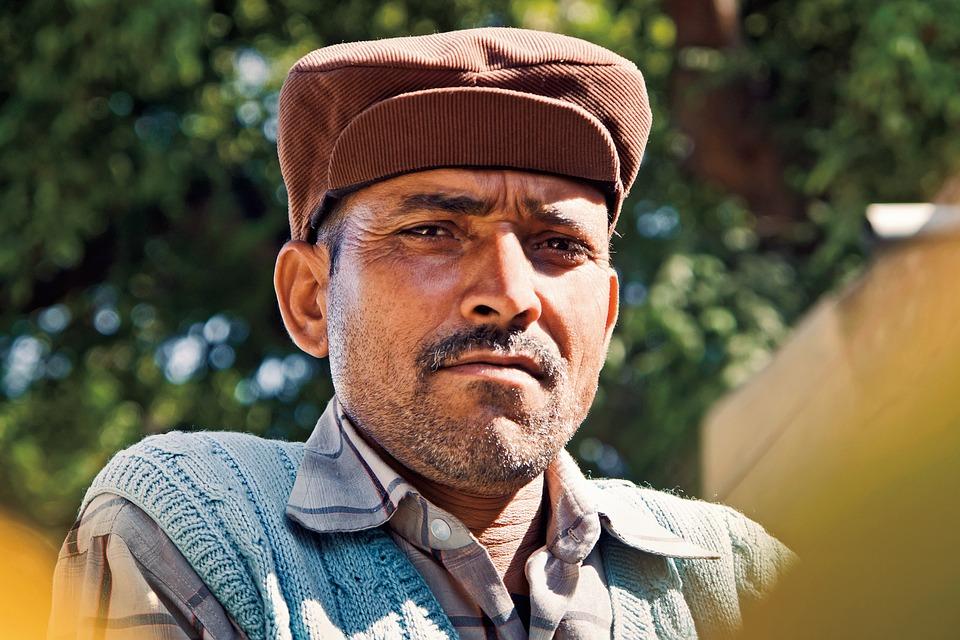 Man, Indian, Portrait, Face, Person, Adult, Male, Guy