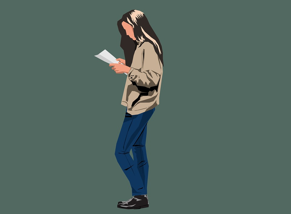Girl, Female, Woman, Adult, Reading, Young, Person