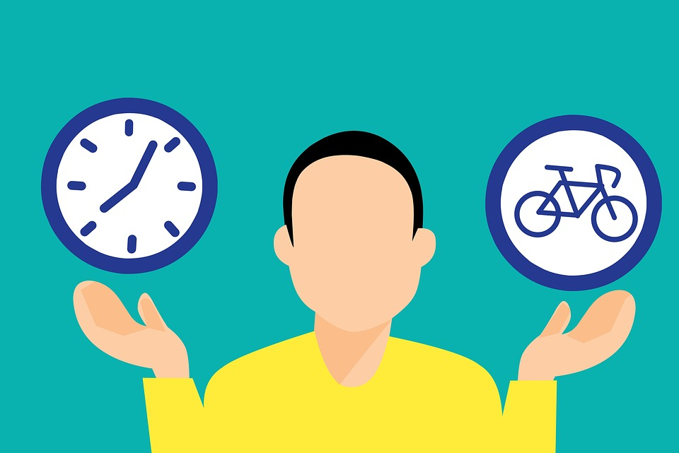 Sport, Bicycle, Time, Comparison, Man, Adult