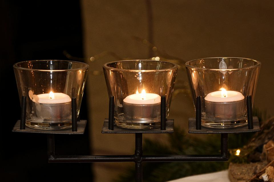 Candles, Candlelight, Decoration, Advent, Christmas