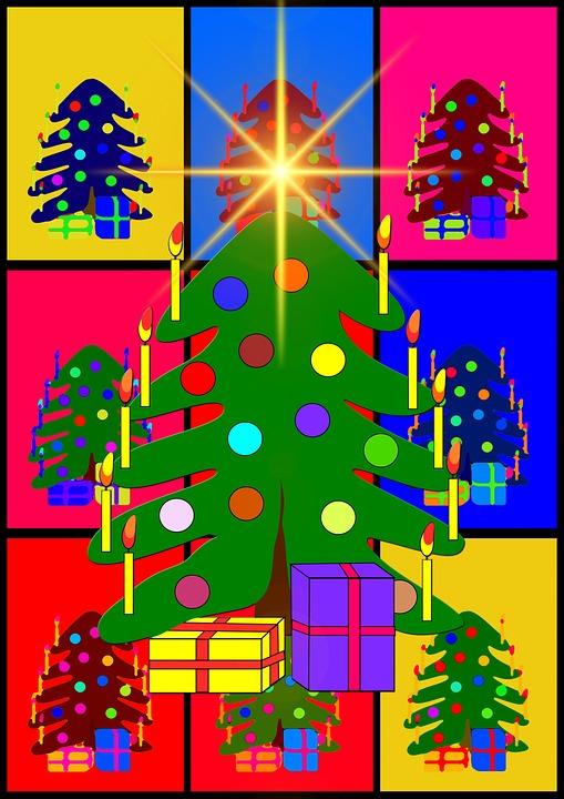 Christmas Ornaments, Advent, Ball, Colorful