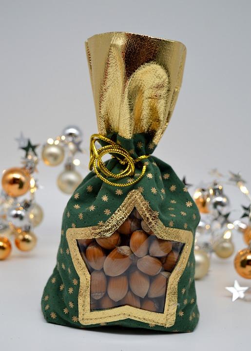Hazelnuts, Christmas Gift, Christmas, Advent