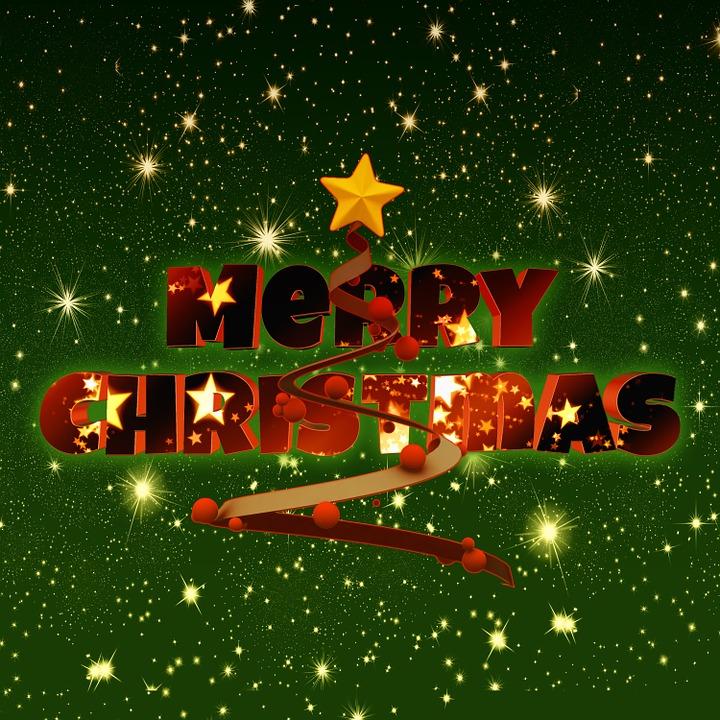 Christmas, Red, White, Green, Star, Light, Advent