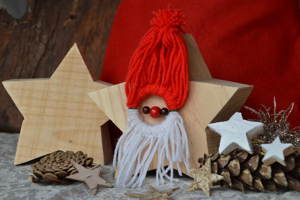 Nicholas, Advent, Christmas Time, Star, Wood, Tinker
