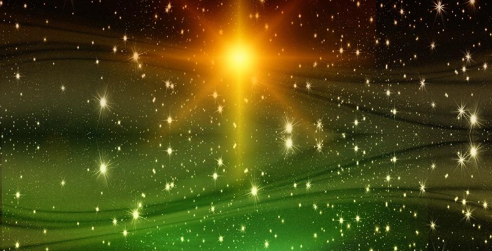 Christmas, Star, Background, Advent, Starry Sky