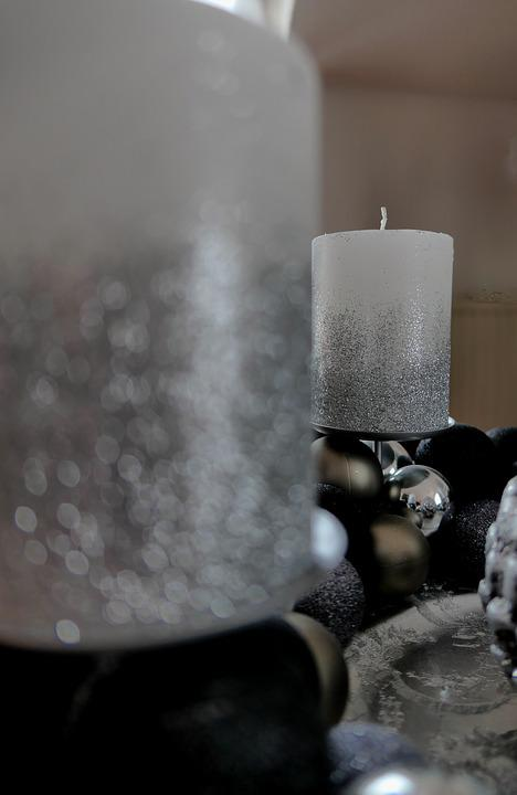 Candle, Advent, Advent Wreath, A Christmas Night