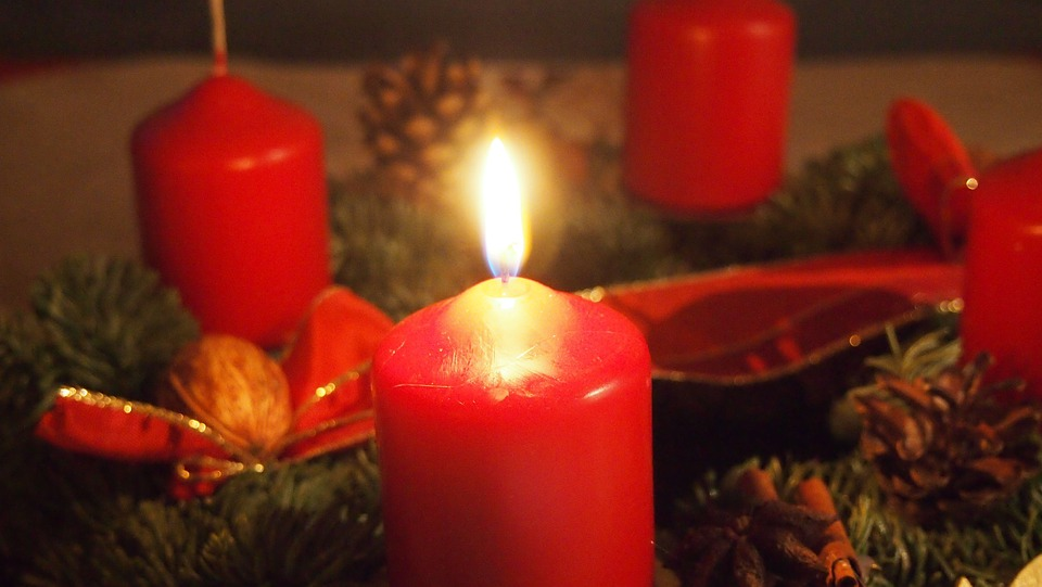 Advent, Advent Wreath, Candle
