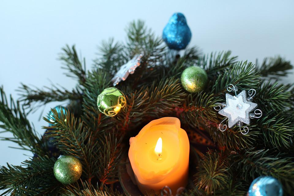 Candle, Advent Wreath, Advent, Flame, Candlelight