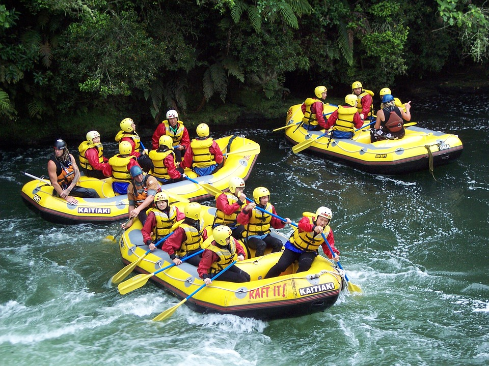 White Water Rafting, Action, Outdoors, Fun, Adventure