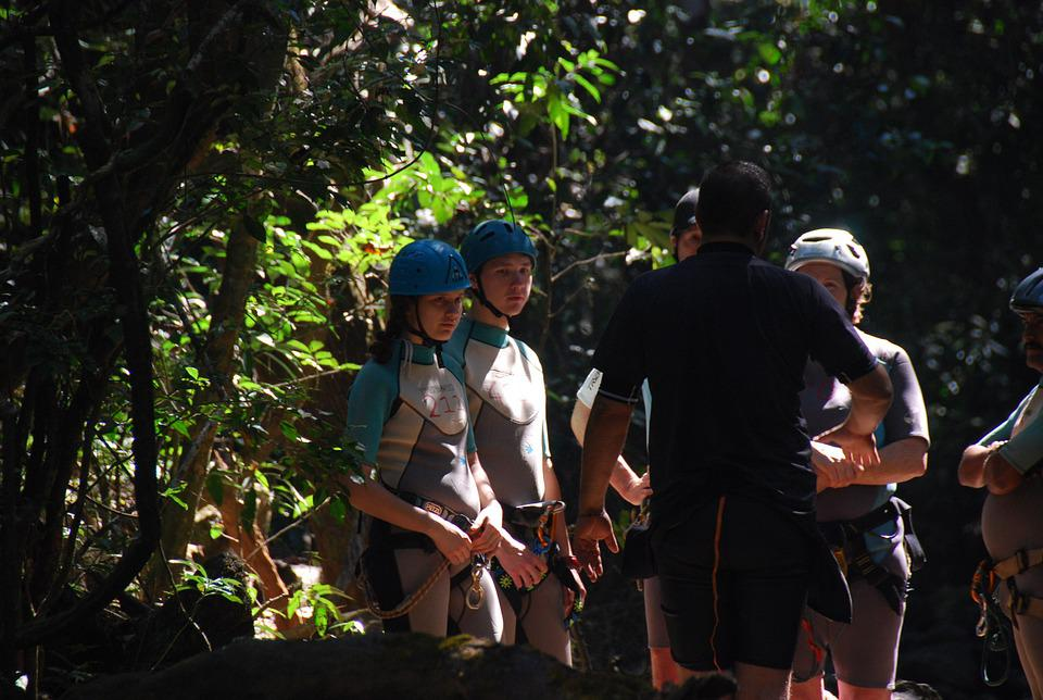 Canyoning, Sports, Adventure, Outdoors, Extreme