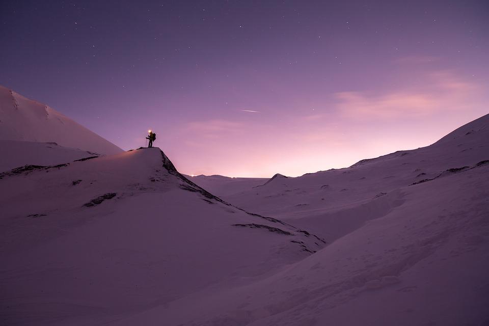 Snow, Adventure, Mountain, Nature, Snowy Landscape