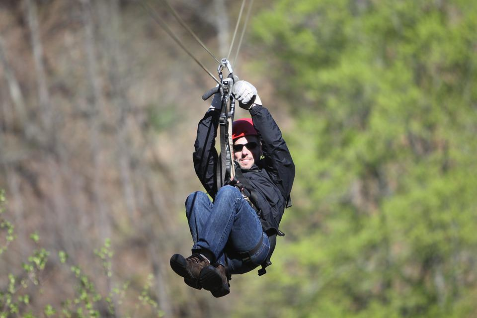 Zip Line, Adventure, Outdoor