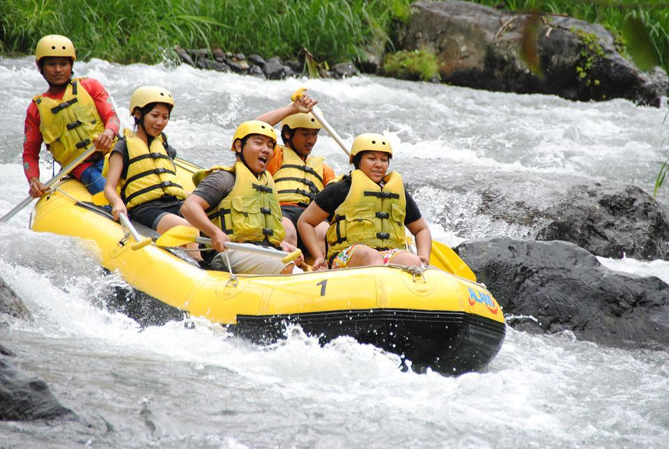 Rafting, River, Adventure