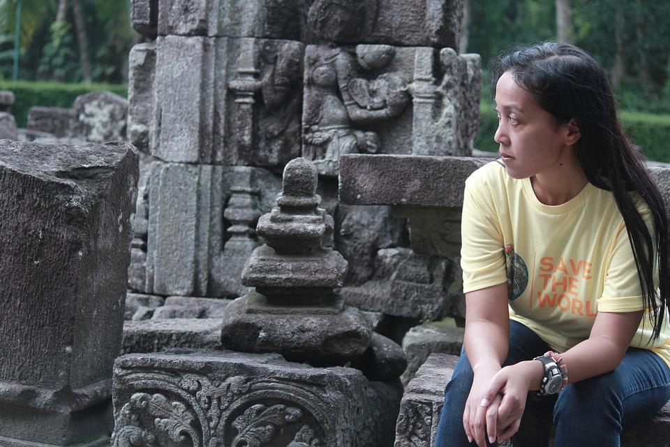 Temple, Female, Heritage, Outdoor, Culture, Adventure
