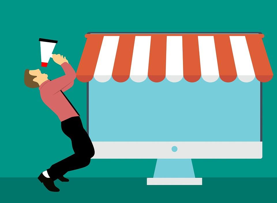 Design, Advertisement, Marketing, Online, Business Man