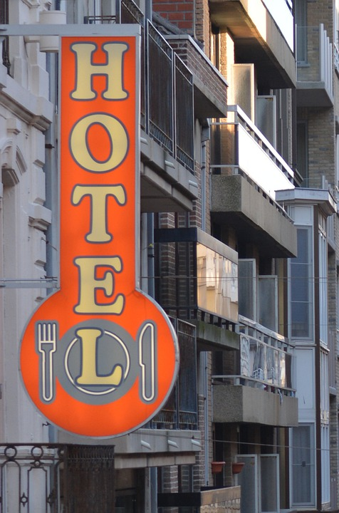 Hotel, Buildings, Advertising