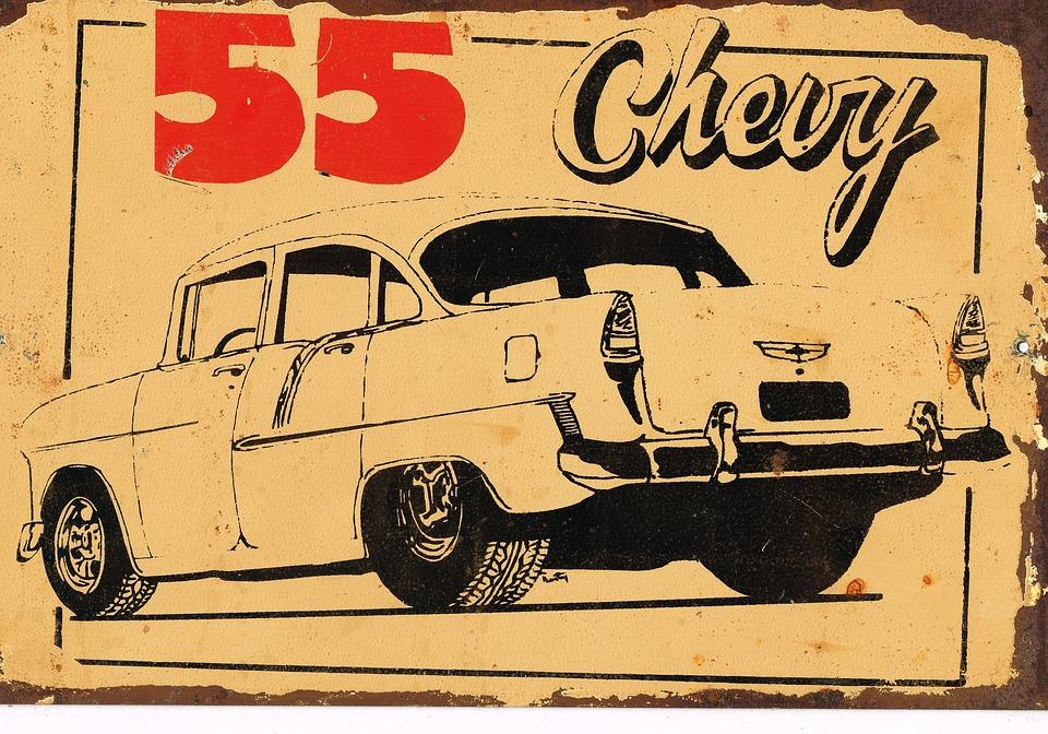 Retro, Vintage, Advertising, Old, Auto, Transport