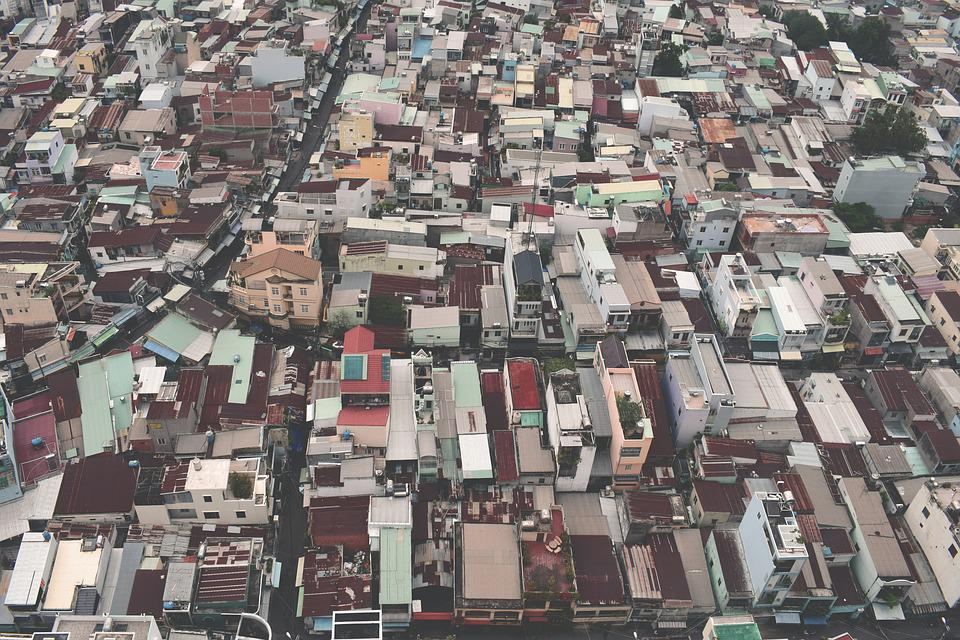 Aerial, Architecture, Buildings, City, Daylight, Houses