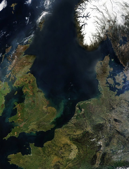 England, Ireland, Northern Europe, Europe, Aerial View
