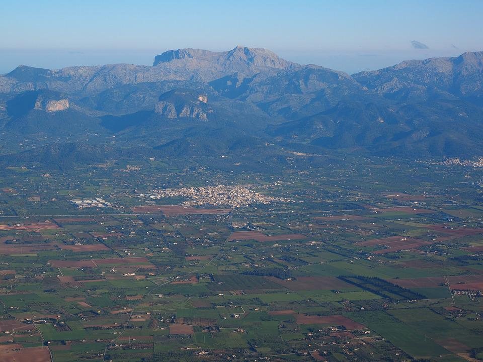 Mallorca, Aerial View, Aerial Photographs, Landscape