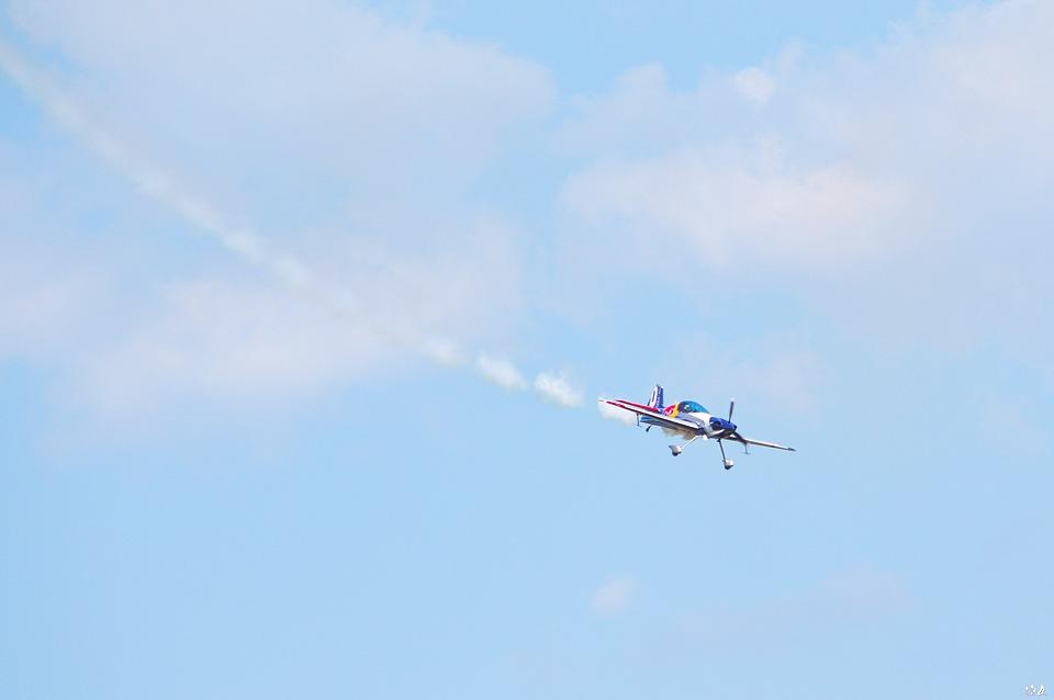 Flying Bulls, Aeroplane, Aero Show, Aviation, Red-bull