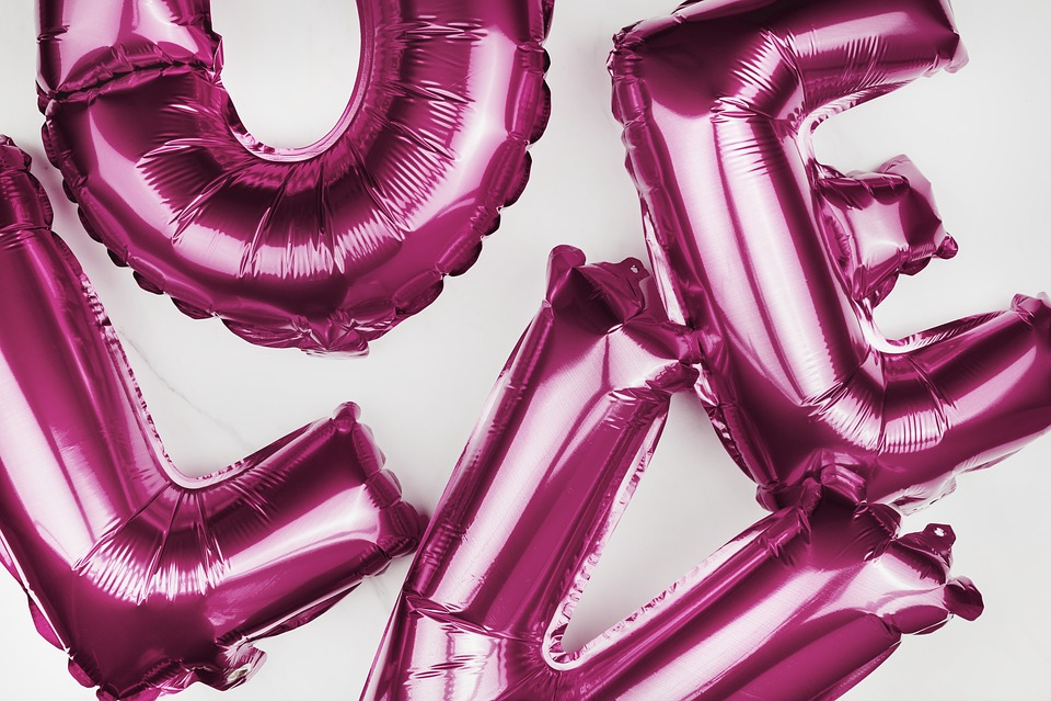 Affection, Air, Alphabet, Anniversary, Balloons