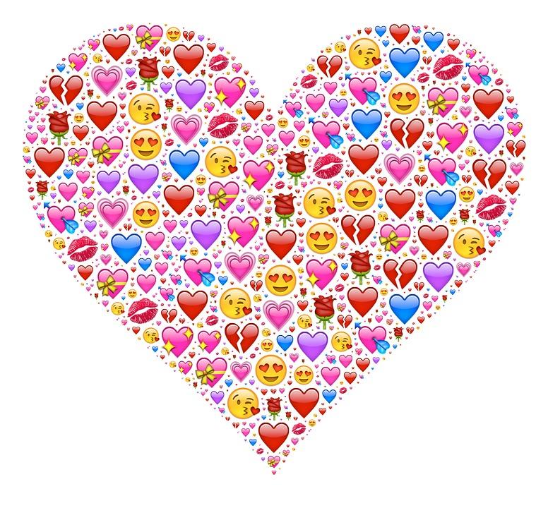 Heart, Emoji, Affection, Love, Attraction, Emotion, Red