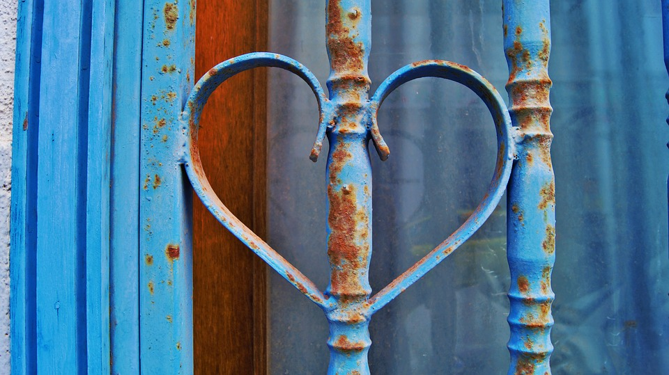 Heart, Love, Affection, Romance, For You, Metal, Gate