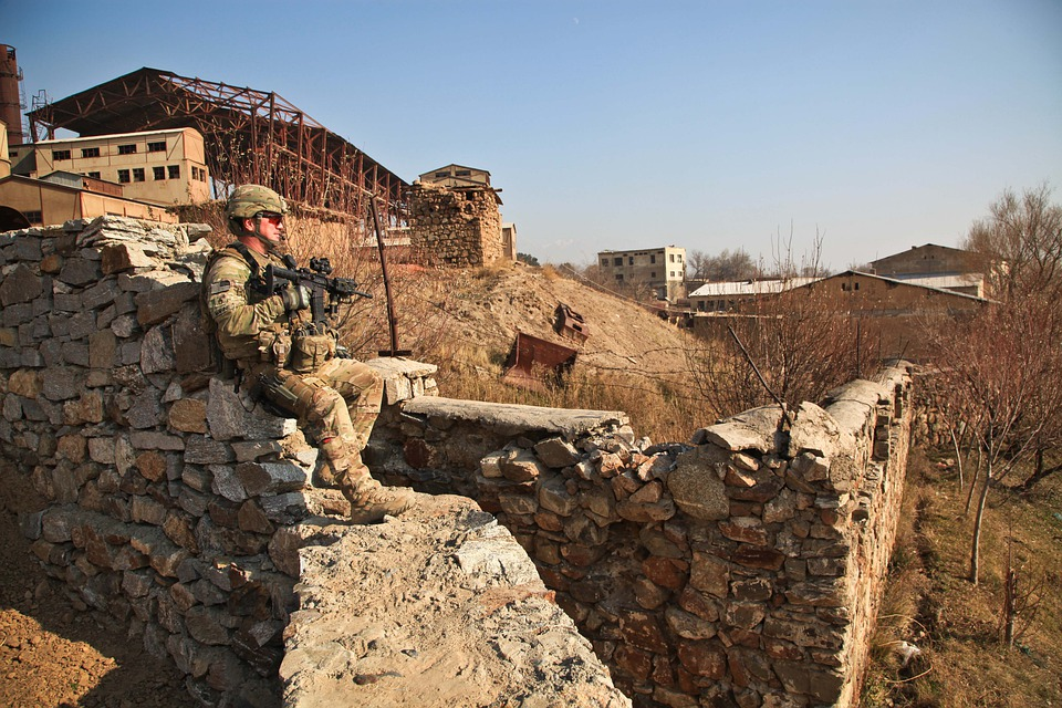 Afghanistan, Soldier, Security, Weapon, Village, Patrol