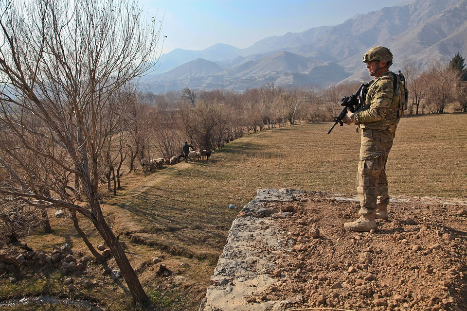 Afghanistan, Deployment, Security, Farm, Village