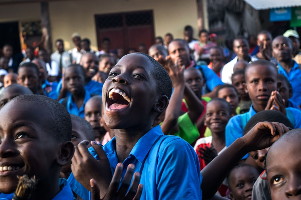 People, Group, Many, Child, Education, Boy, Africa
