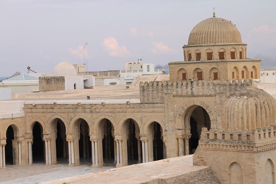 Mosque, Muslim, Tunis, Africa, Architecture, Building
