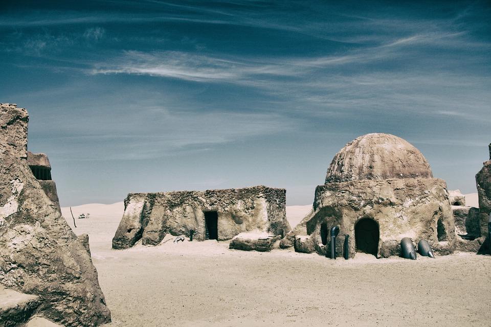 Sahara, Tunisia, Desert, Sand, Camels, Dune, Africa