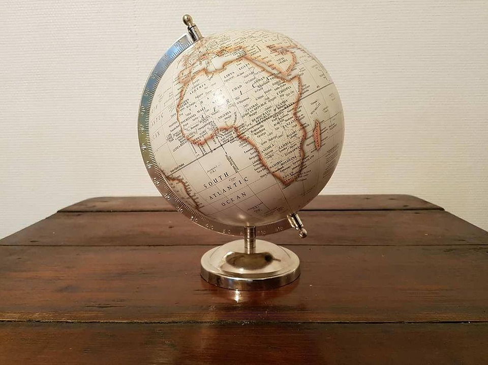 Free photo africa earth terrestrial globe world map globe max pixel terrestrial globe africa globe world map earth gumiabroncs Images
