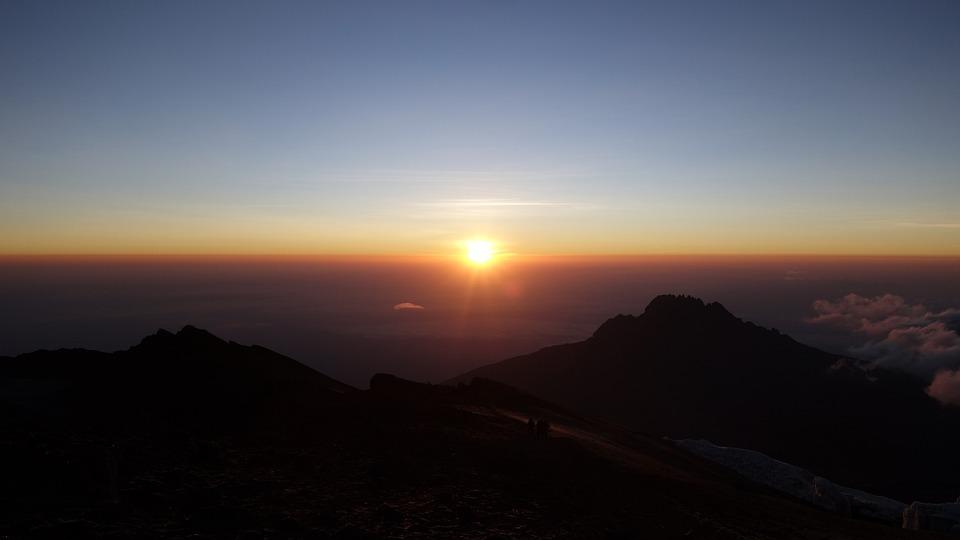 Kilimanjaro, Mountain, Africa, Sunrise