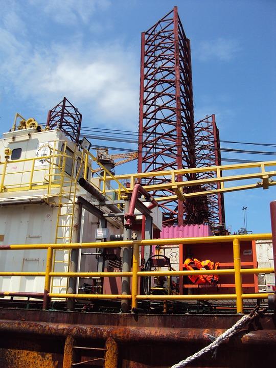 Africa, Gabon, Platform, Drilling, Travel
