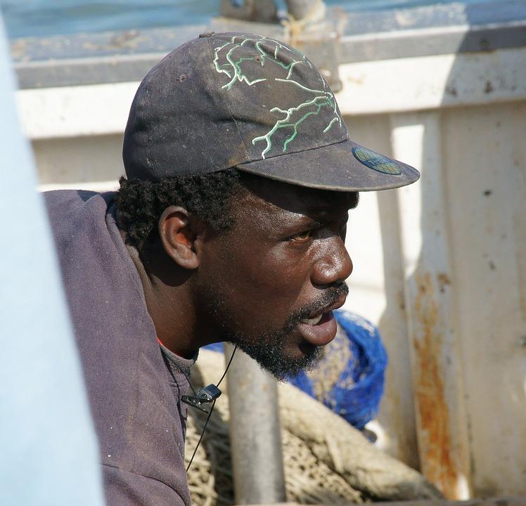 Fisherman, African, Boatman, African Face, Working Man