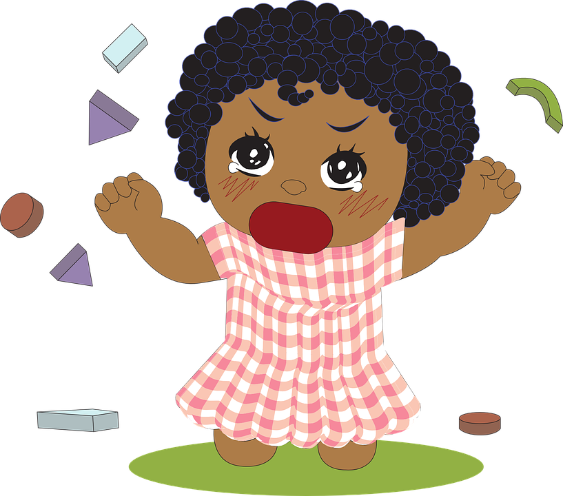 Girl, Biracial, African, Black, Toddler, Little
