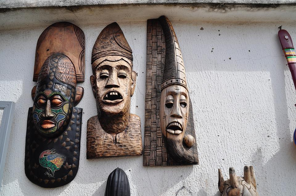 Wooden Mask, Art, Mask, Wooden, Traditional, African