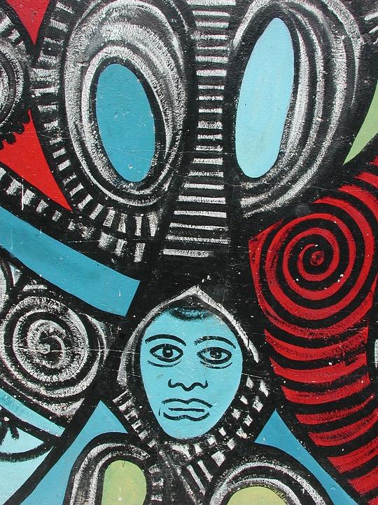 Callejon De Hamel, Afro-cuban, Colors