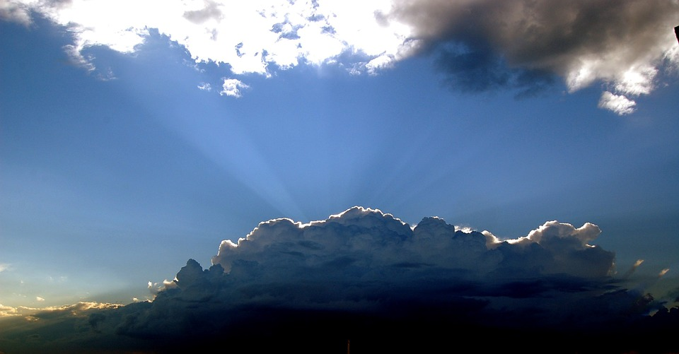 Clouds, The Rays, The Sun, After The Storm