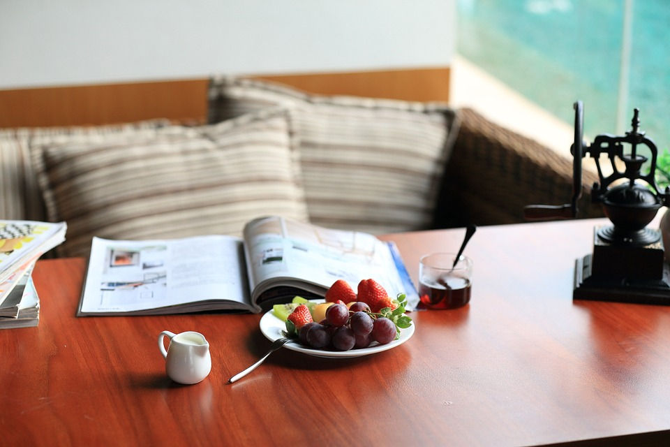 Café, Dim Sum, Afternoon